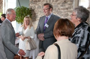 Prime Cymru - Meeting Prince Charles